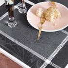Set americano Palace Caviar 54x38 50% cotone - 50% lino, , hi-res image number 0