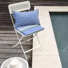 Cuscino per sedie Color Rock Denim 40x40 acrilico, , hi-res image number 0